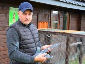 Grzegorz Szczoczarz - Hodowca gołębi pocztowych