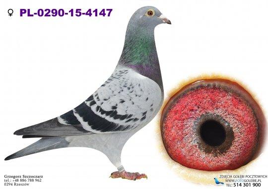 PL-0290-15-4147-golab-pocztowy-jozef-wania